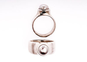 ToucheToday Pearl Ring